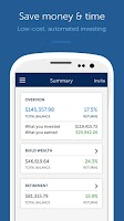 Screenshot of Betterment