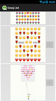 Screenshot of EmojiArt - WhatsApp (Emoji Art