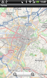 Torino Street Map - screenshot