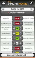 Screenshot of Football Scores Live (Soccer)
