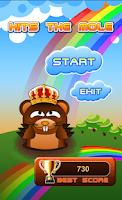 Screenshot of Happy Hits the mole