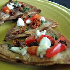Sun-Dried Tomato Bruschetta with Goat Cheese
