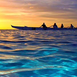 by Brandon Mardon - Transportation Boats