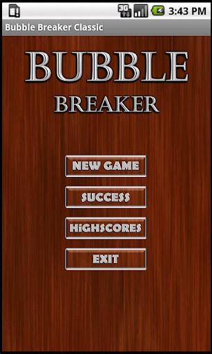 Bubble Breaker Classic