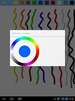 Screenshot of Drawings Board - finger paint
