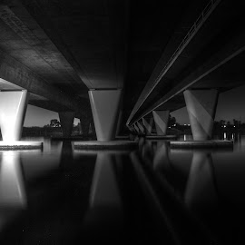 by Matty Gott - Buildings & Architecture Bridges & Suspended Structures ( perth, swan river, bridge, mono, windan )