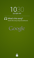 Screenshot of Sound Search for DashClock