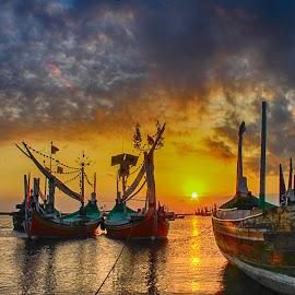 The Old by Eka Sabara - Transportation Boats