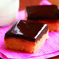 Fine Cooking's Peanut Butter and Chocolate Shortbread Bars