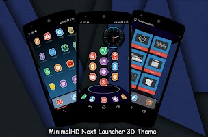Screenshot of MinimalHD Next Launcher Theme
