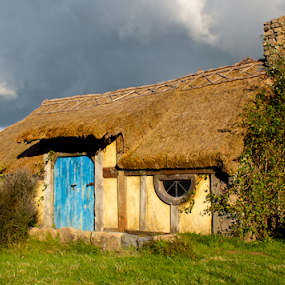 Dreaming of a Cottage in the Shire by Venetia Featherstone-Witty - Buildings & Architecture Homes ( the shire, english cottage, hobbit cottage, travel, thatched cottage, tourist desination, hobbiton, lord of the rings, movie set,  )