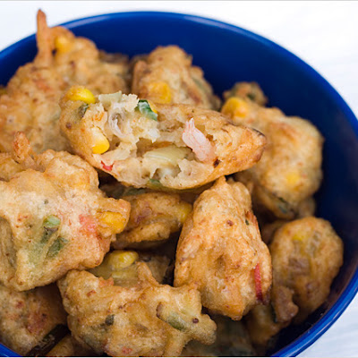 Cucur Udang (Prawn Fritters)