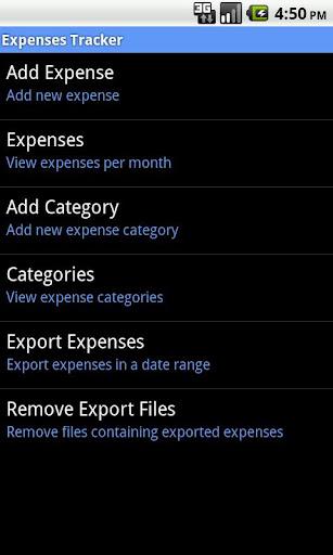 Expenses Tracker