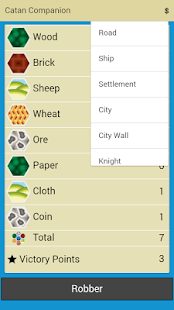 Catan Companion - screenshot