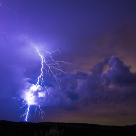 Liam's Storm by Jason Green - Landscapes Weather ( lightning, #bolt, #liam, #night, #weather, #storms )