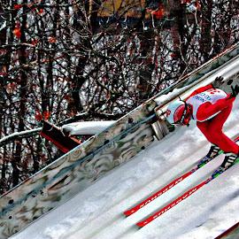 ski jumping at the best by Jon Radtke - Sports & Fitness Snow Sports ( ski jumping at the best )