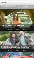 Screenshot of Carly Rae Jepsen