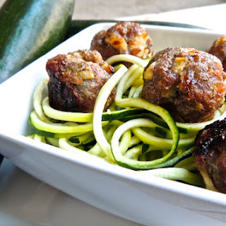 Baked Apple & Pork Meatballs