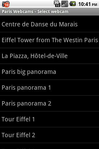 Paris Webcams