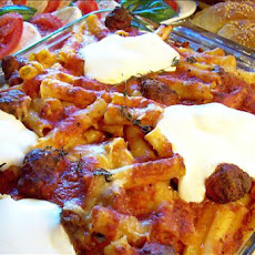 Ziti Al Forno (From the Sopranos Family Cookbook)