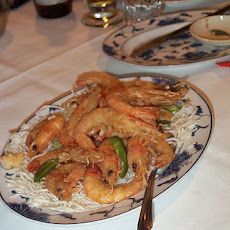 Baked Shrimps With Glass Noodles (tanghoon)