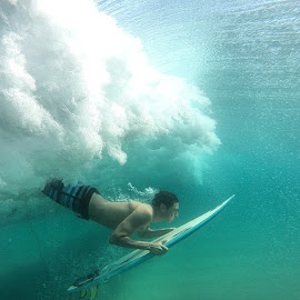 by Alejandro Velasco - Sports & Fitness Surfing ( tbt, surf, cerritos, waves, ocean, home, winter, gopro, nofilter )