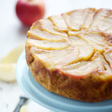 Apple And Pumpkin Upside Down Cake