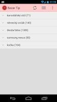 Screenshot of Bazar Tip - sledování inzerce