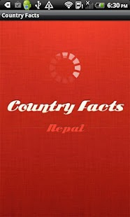 Country Facts Nepal - screenshot