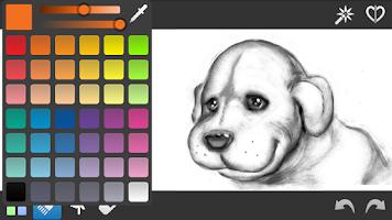 Screenshot of InspirARTion - Sketch & Draw!