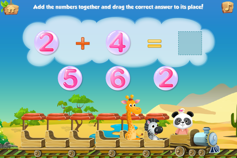 Lola's Math Train Learn Basics Screenshot 12