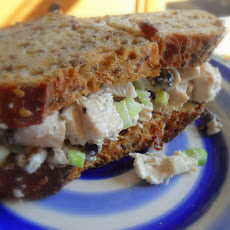 Tasty Chicken Salad Sandwich