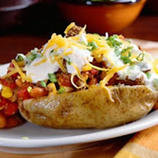 Frito Pie Baked Potato