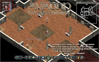 Screenshot of Avadon: The Black Fortress
