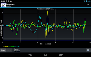 Screenshot of Sensor Kinetics