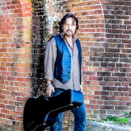 Guitar man by Diane Davis - People Musicians & Entertainers