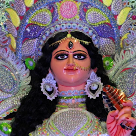 Maa Durga Idol by Anindya Bhattacharjee - Artistic Objects Other Objects ( durga puja, durga,  )