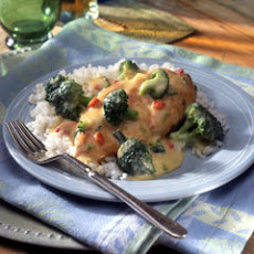 Chicken & Broccoli With Garlic Sauce