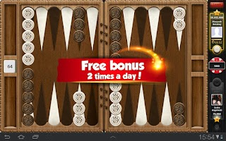 Screenshot of PlayGem Backgammon
