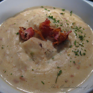 Creamy Chicken Bacon Chowder