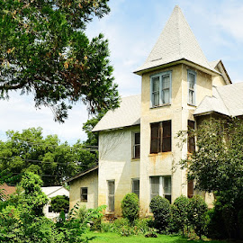 The Tower by Lisa McIntyre - Buildings & Architecture Homes ( old home, victorian, historic )