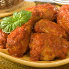 1-2-3 Chicken Cacciatore (12 Servings)