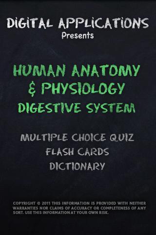 ANATOMY PHYSIOLOGY DIGESTIVE