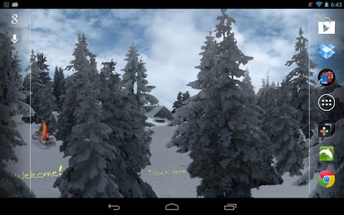 download winter snowfall live wallpaper apk to pc download android