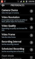 Screenshot of Smart Spy Video Recorder Lite