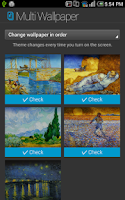 Screenshot of Vincent Van Gogh Gallery Atom