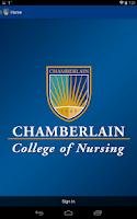 Screenshot of Chamberlain College of Nursing