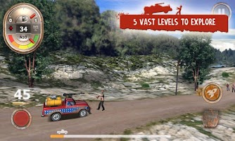 Screenshot of Zombie Derby