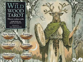 Screenshot of Wildwood Tarot