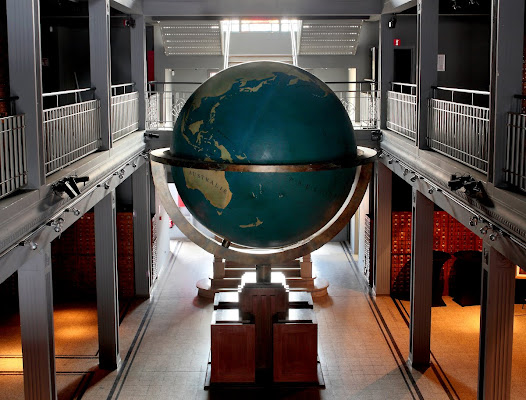 Today the Mundaneum is an international archives center and a museum located a few miles away from Brussels in the heart of Mons, European capital of culture in 2015.